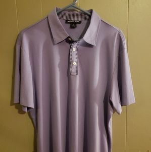 Purple Michael Kors shirt